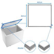 Borracha Gaxeta Freezer Electrolux FH400L - Loja Do Refrigerista