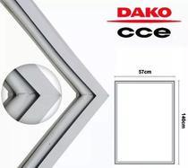 Borracha gaxeta refrigerador cce dako r31 310l 57x140 -