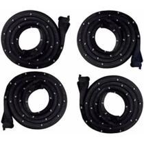 Borrachas de porta Opala 4 portas (kit) com grampos - Centerflex