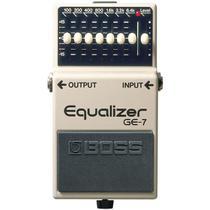 Boss - Pedal Equalizador Para Guitarra GE7 -