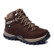 Bota Adventure Cano Alto Infantil Macboot Guarani 12 Café -