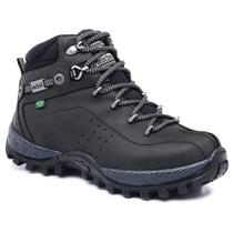 Bota Adventure Cano Alto Infantil Macboot Guarani 12 Grafite -