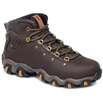 Bota Adventure Cano Alto Macboot Gavião 02 Café -