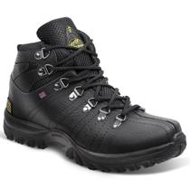 Bota adventure masculina sandro moscoloni everest preta black - Sandro republic