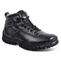Bota adventure masculina sandro moscoloni full ride preta black