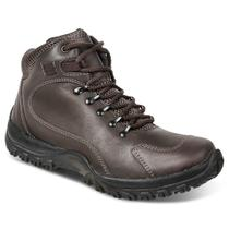 Bota adventure masculina sandro republic trails marrom escuro coffee