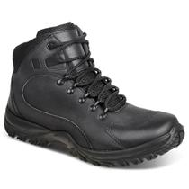 Bota adventure masculina sandro republic trails preto black