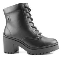 Bota Coturno Ramarim Ankle Boot Preto 2050103 -