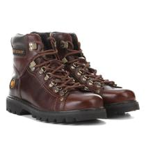 Bota Couro Coturno West Coast Worker Masculina -