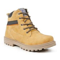 Bota desert masculina polo state pind amarelo yellow -