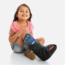 Bota Imobilizadora Robocop Infantil Estampado Chantal -