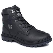 Bota Motors Cano Alto Macboot Chimango Grafite -