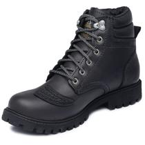 Bota Motors Cano Alto Macboot Kenko 02 Grafite -