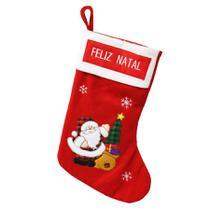 Bota Natal Papai Noel 52cm - Niazitex