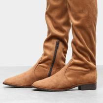 Bota Over The Knee Drezzup Amarração Feminina -