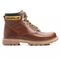 Bota Second Shift Caterpillar Em Couro M850 Pull- Up