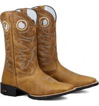Bota Texana Masculina Amarela - Ramon Botas