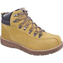 Bota work masculina sandro moscoloni timber amarela yellow