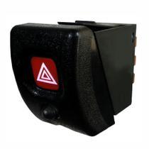 Botão de Emergência Pisca Alerta com Alarme (LED) - GM 90434501 e 93285545 - DNI 2181 -