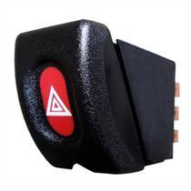Botão de Emergência Pisca Alerta - GM 12V Corsa - DNI 2184 -