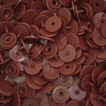 Botão de Pressão Redondo Plástico Ritas 12mm - 50 Unidades -