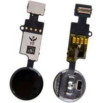 Botão Home Funcional Universal iPhone 7 7 Plus 8 8 Plus Preto - Pecascelular.Com