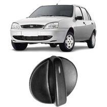 Botão Ventilação do Ar Quente Ford Fiesta 1996/2004 Preto - Autoplast