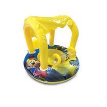 Bote Inflável Baby Com Cobertura Mickey 74x60cm Etilux DYIN-165 -