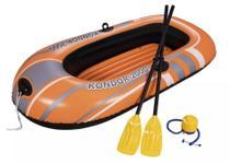 Bote Inflável Bestway Kondor 2000 Barco com Par de Remos e Bomba de Inflar 61062 -