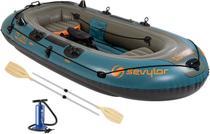Bote Inflável Fish Hunter Para 4 Pessoas Berkley - Sevylor -