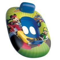 Bote Inflável Infantil com Fralda - Mickey - Disney - Etilux -