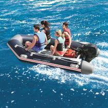 Bote Inflável Mirovia Pro 640kg Com Remos Barco Até 15hp Bestway -