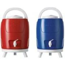 Botijão Térmico Azul ou vermelha 9 Litros Invicta -