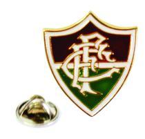 Boton Dourado Escudo - Fluminense -
