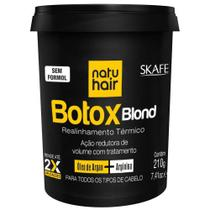 Botox natu hair blond argan+argin 210gr
