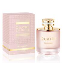 Boucheron Quatre En Rose Perfume Feminino Eau De Parfum 100ml + Bolsa -