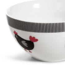 Bowl Bella Galinha 450 ml de Porcelana- Copa e Cia