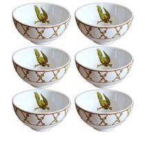 Bowl de cerâmica Parrots Scalla 6 peças 460 ml - 23883 -