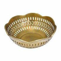 Bowl Decorativo Dourado - Decorafast
