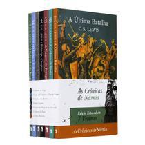 Box 07 Livros  Coleção Completa As Crônicas de Nárnia - C. S. Lewis - Martins Fontes