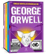 Box 3 Livros As Obras Revolucionárias de George Orwell 1984 - Ciranda Cultural