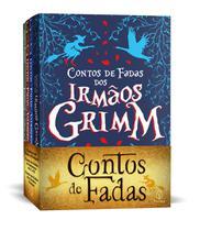 Box 4 Livros Contos de Fadas Irmãos Grimm Hans Cristian Andersen e Charles Perrault - Ciranda Cultural