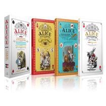 Box Alice No País Das Maravilhas E Alice Através Do Espelho + Alice Para Colorir - Pandorga