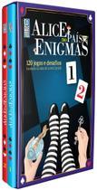 Box Alice no País dos Enigmas : 120 Jogos e Desafios Baseados na Obra de Lewis Carroll Capa Dura - Coquetel