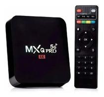 box aparelho conversor transforma tv comum em smart 4k 4 GB ram 64gb rom android 10.1 - Mx