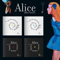 Box As Aventuras de Alice no País das Maravilhas  Lewis Carroll 4 Volumes Importado Portugal - Expresso (portugal)