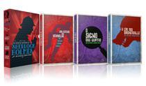 Box -  As Grandes Histórias De Sherlock Holmes - 3 Volumes - Pandorga -