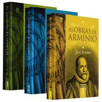 Box: As Obras De Armínio  3 Volumes - JACÓ ARMÍNIO -