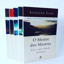 Box Coleção Análise da Inteligência de Cristo - Augusto Cury Livros Auto Ajuda - Sextante