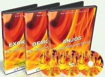Box com 3 dvd - anjos, demônios e exorcismos na doutrina da igreja - Armazem